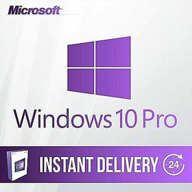 M.S Windows 10 Pro Genuine  32/64 Bit Lifetime Digital License Product Key - Instant E-Mail Delivery