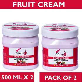 I TOUCH HERBAL FRUIT CREAM 500 ML X 2 ( PACK OF 2)