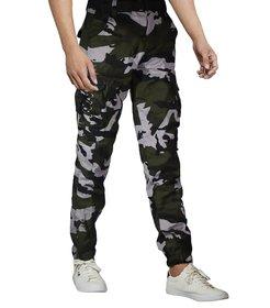 VANTAR Men's Straight-Fit Comfort Stretch  Cargo Pant