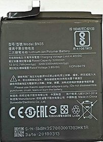 HATHOT Mobile Battery For Xiaomi Redmi Mi 5 5.7 / BN35 / 3300 mAh (Only for 5.7 model)