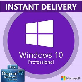 M.S Windows 10 Pro Lifetime Digital License Product Key - Instant E-Mail Delivery