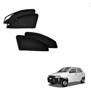 Kozdiko Zipper Magnetic Sun Shades Car Curtain For Maruti Suzuki Alto