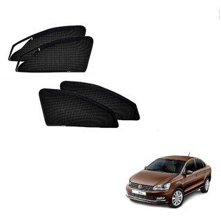 Kozdiko Zipper Magnetic Sun Shades Car Curtain For Volkswagen Vento