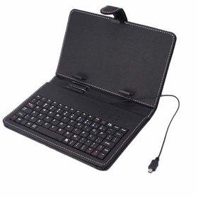 Crystal Digital 9inch Tablet Keyboard Back flip cover Case