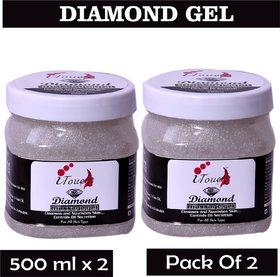 I TOUCH HERBAL DIAMOND GEL 500 ML X 2 ( PACK OF 2)