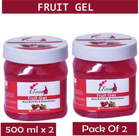 I TOUCH HERBAL FRUIT GEL 500 ML X 2 ( PACK OF 2)