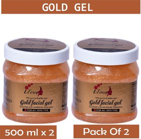 I TOUCH HERBAL GOLD GEL 500 ML X 2 ( PACK OF 2)