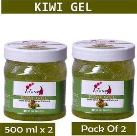 I TOUCH HERBAL KIWI GEL 500 ML X 2 ( PACK OF 2)