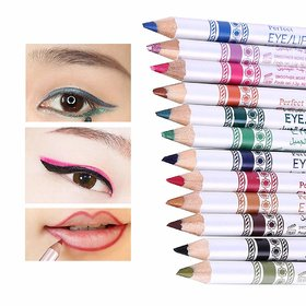 Swipa perfect eye/lip liner pencil set of 12(Generation-11)(58-P11013)-012