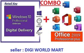 Office 2019 Pro And Windows 10 Professional Combo Retail License Keys -Fastest Digital Delivery