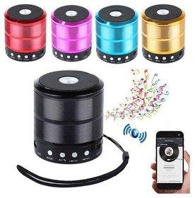 W887 Bluetooth Speaker (Multicolor)