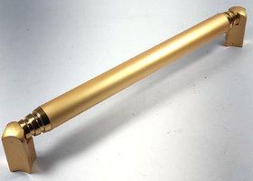Home Decor Brass Matt Gold T.T Door, Cupboard, Kitchen  Cabinet Handle Size250 mm