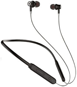 S4 IPX4 In the Ear Bluetooth Neckband Headset With Mic (Black)