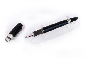 Mont Starwalker Midnight Black Rollerball blanc Pen - 105656