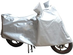 Digimate two wheeler water resistant universal bike cover upto 150cc Color (Silver)