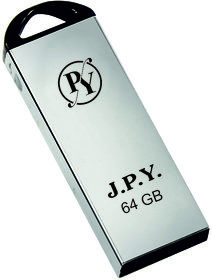 JPY High Speed Flash Drive 64GB Pendrive with 100  Seller Warranty ( Made in India ) Silver Color Pendrive