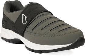 Jaisco Men's Sport Black and Grey Running Shoes Sneakers For Men