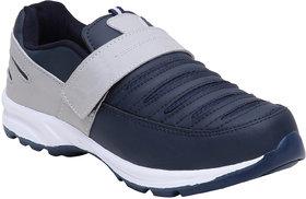 Jaisco Men's Sport Navy Blue and Grey Running Shoes Sneakers For Men