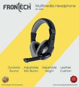 Frontech HF3443 Over Ear Wired With Mic