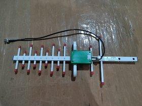 GraspaDeal 16dbi Yagi Antenna for 2G/3G/4G Network Booster Antenna/Yagi Antennas/Cable Length 310mm with Clamp