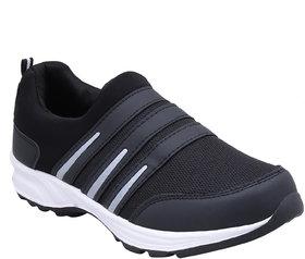 Jaisco Men's Sport Black Running Shoes Sneakers For Men
