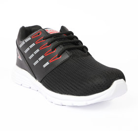 Jaisco Men's Sport Best quality Black and red Running Shoes Sneakers For Men