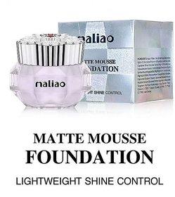 maliao MAtte Mouse Foundation LightWeight Shine Control-02 Foundation