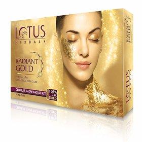 Lotus herbals gold radiance  facial kit 37g
