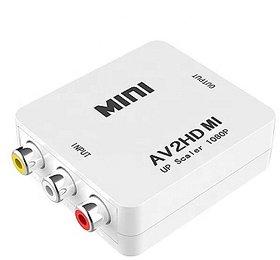 JAMUS AV to HDMI Converter 1080P Video Converter AV 2 HDMI Adapter