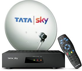 TATA SKY SD CONNECTION + 1 MONTH HINDI SMART @249 PACK + FREE INSTALLATION + DELIVERY