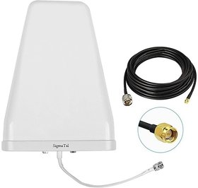 SigmaTel High Gain Lpda Antenna For Tenda 4G 680 LTE 4G Router ! outdoor Antenna with 10 meter cable !