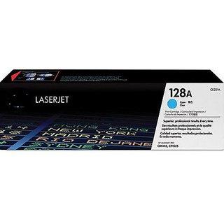 HP 128A Toner Cartridge  Cyan ( CE 321A ) For Use HP LaserJet Pro CM1415, CP1525