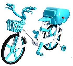 Bicycle showpiece Miniature Decorative Cycle/Bicycle for Home Decoration and for Kids.Color Blue