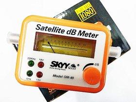 Digital Satellite Signal Finder Meter for Signal Strength Dish, Satelite TV