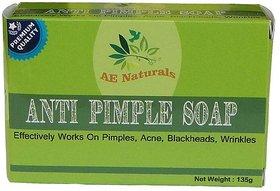 AE NATURALS Premium Anti Pimple Soap For Radiant Skin 1X135g