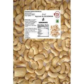 Sbatm Whole Organic Cashew Nuts (400gm)
