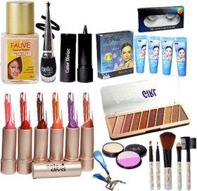 La Perla Makeup combo set of 15 Pcs