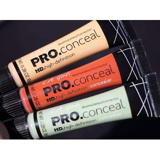 L.A Girl HD Pro Concealer (Color Orange, Green, Yellow)