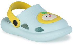 screenshoppingstore  Baby Face Clogs for Kids - LightGreen size 2 years and 4 years
