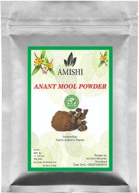 Amishi 100 Organic Anantmool Powder, 100gm