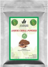 Amishi 100 Organic Ashok Chahal Powder, 100gm