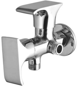 Drizzle Swift 2 in 1 Angle Cock Brass, Two Way Angle Valve Stop Cock
