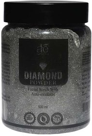 AE NATURALS Diamond Powder Extract Facial Scrub With Anti oxidents 500ml