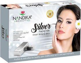 NANDIKA BEAUTY SILVER FACIAL KIT 310GM