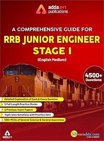 A Comprehensive Guide for RRB Junior Engineer Stage I (In English) by Adda247 Publications