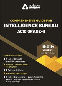 Book for Intelligence Bureau ACIO Grade-II 2020-2021 Exam English Medium Guide by Adda247 Publications