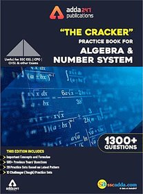The Cracker Practice Book For Algebra  Number System by Adda247 Publications