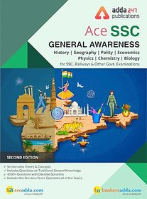 Ace General Awareness For SSC and Other Govt. Exam (English Printed Edition) by Adda247 Publications