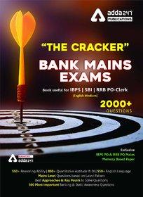 The Cracker Mains Exams Book (English Printed Edition) by Adda247 Publications