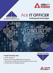 ACE IT Officer Professional Knowledge Book (English Printed Edition) by Adda247 Publications